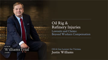 Oil Rig & Refinery Injuries